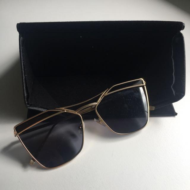 ELVIC GOLD Sunglasses