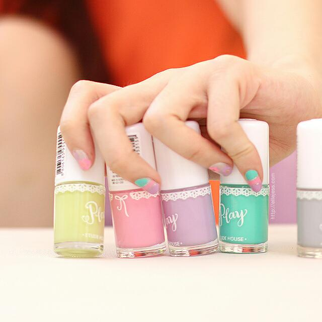 NEW Etude House Play Nail Polish