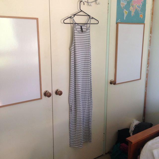 Factorie Stripped Maxi Dress