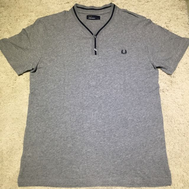 NEW Fred Perry Y-Neck