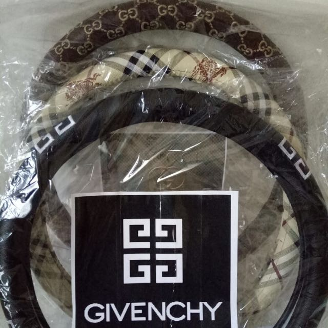 GIVENCHY|GUCCI|BURBEERY Steering Wheels Cover