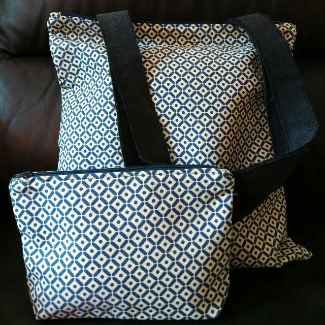 Handmade Tote Bag With Lining