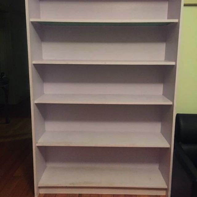Hardwood Bookcase