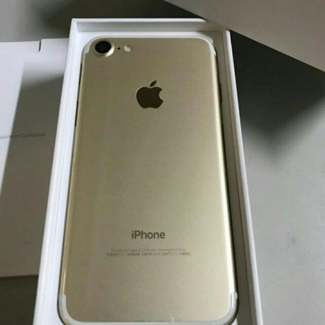 極新Iphone 7 128G 金色