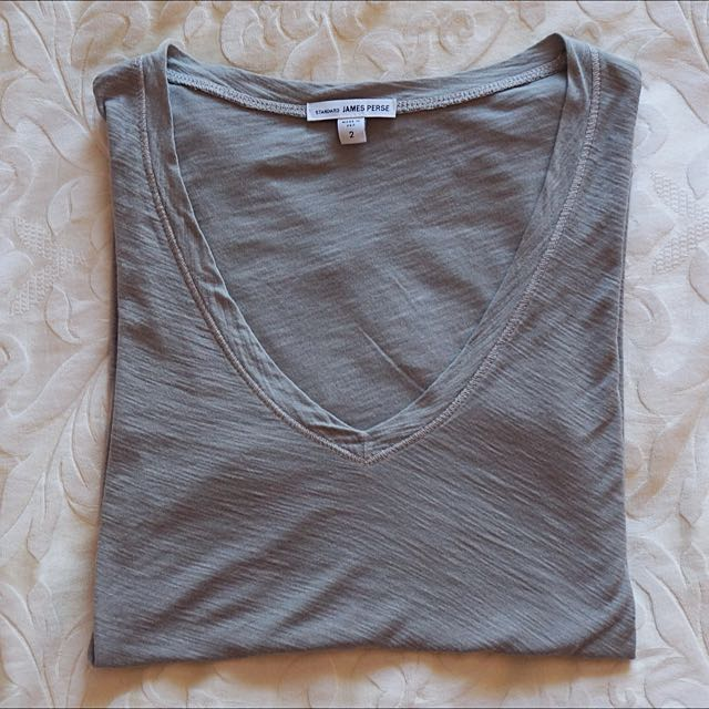 James Perse T Shirt Size 2