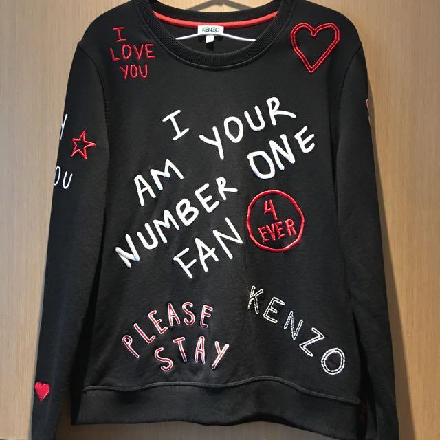KENZO 正品sweatshirt