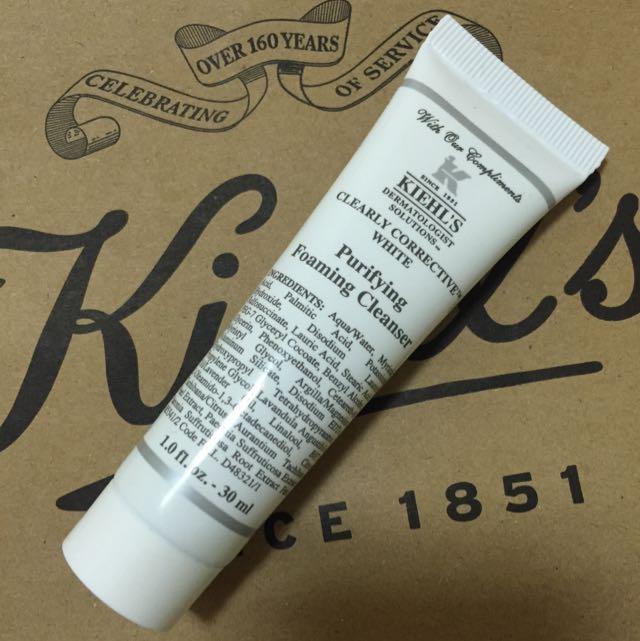Kiehl's 激光極淨白潔面乳💗