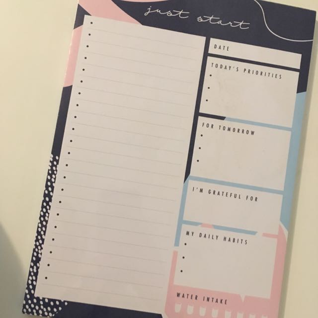 Kikki K Notes Pad