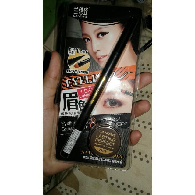 Landbis Eyebrow Cream 3 In 1