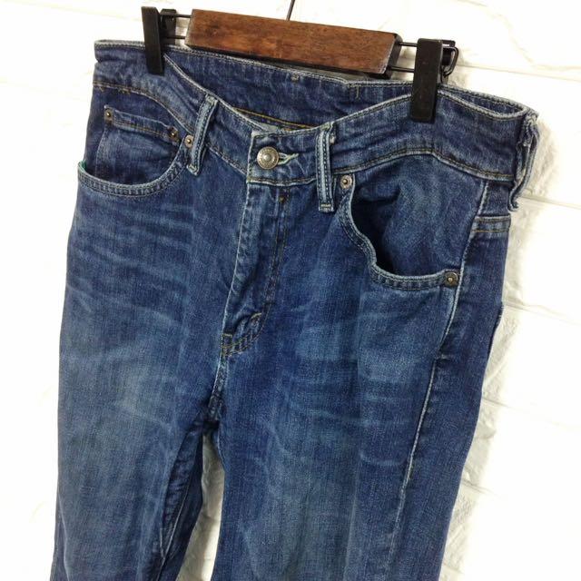 Levi's 511 防潑水機能牛仔褲 反光布編 30腰