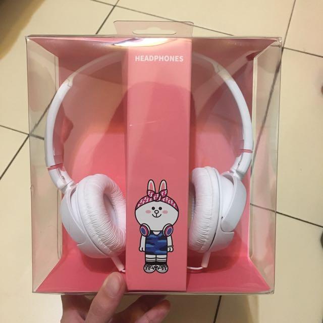 中信刷卡禮/LINE CONY耳罩式耳機
