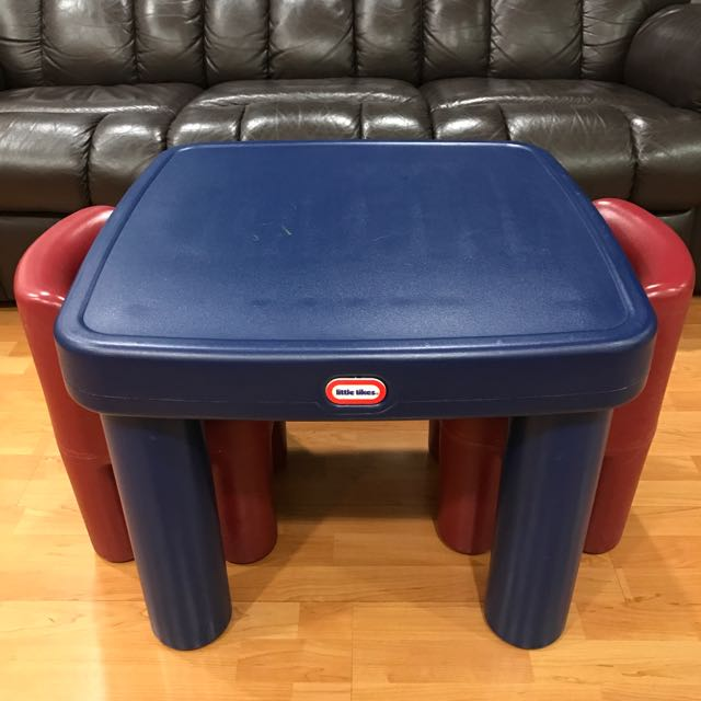 Little Tikes Large Table And Chairs On Carousell