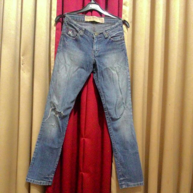 Long Ninety Dregrees Jeans