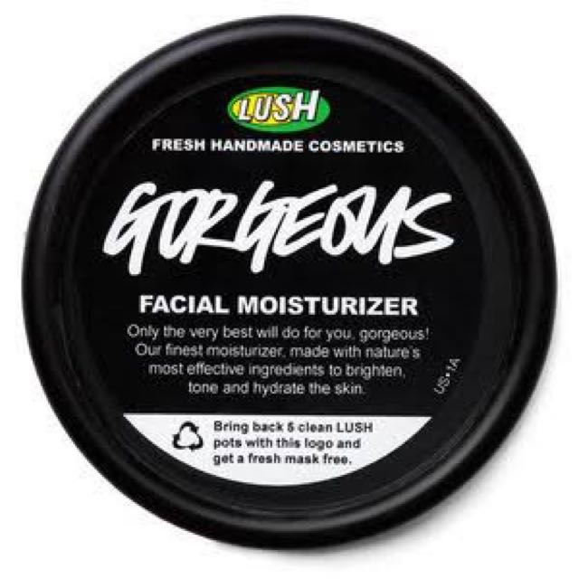 LUSH georgeous face moisturiser