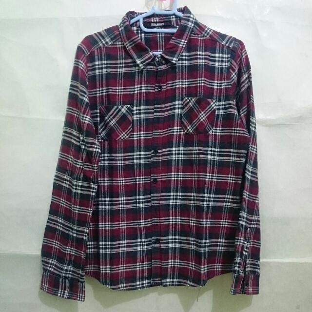 Maroon Flannel