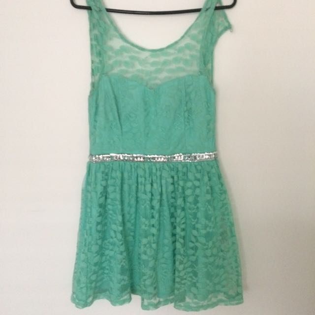 Mint Dress Alone Dress