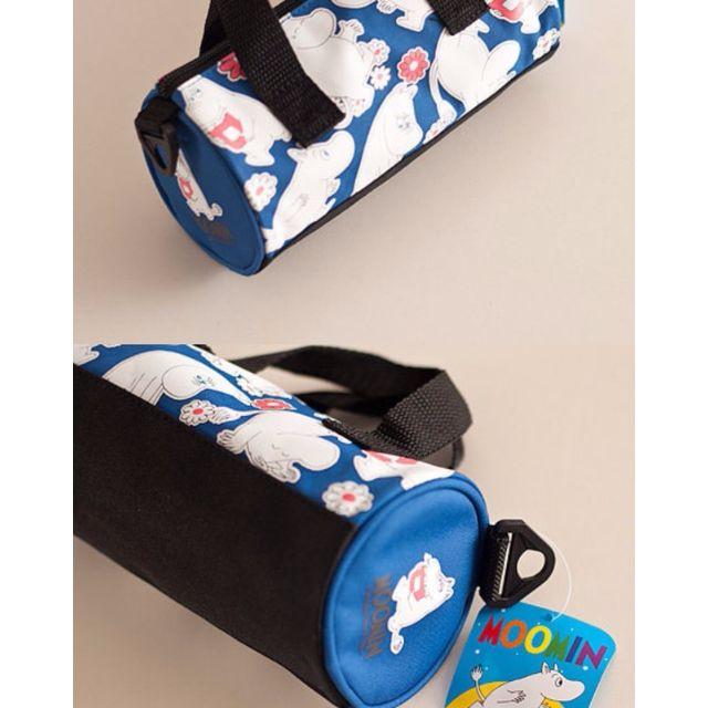 moomin 姆明 嚕嚕咪可愛圓筒包