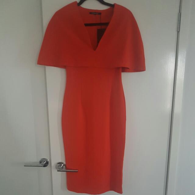 Mossman Oange Dress