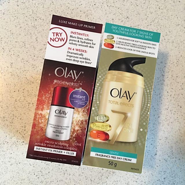 Olay Primer and BB Cream