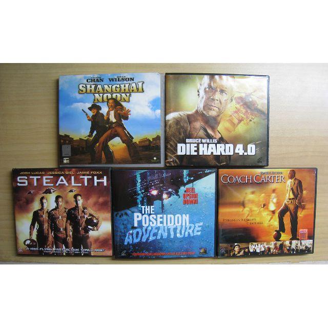 Original VCDs Only P25 Each - Die Hard 4, Poseidon Adventure, Stealth