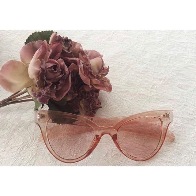 Pink Vintage Festival Sunglasses