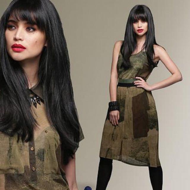 Plains & Prints Camo Skirt