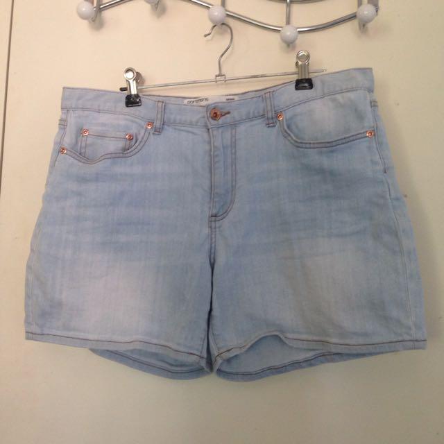 Portmans Pale Denim Shorts