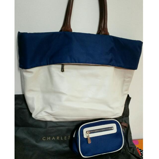 Pre-loved Authentic Charles & Keith tote Bag