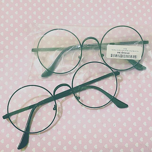 PROMO KOREAN ROUND GLASSES [Kacamata Bulat Korea] *BUY 2 ONLY 40K*