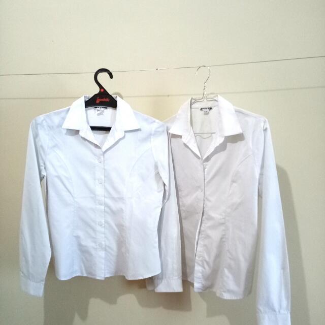 Sale!! Kemeja Putih Import Korea