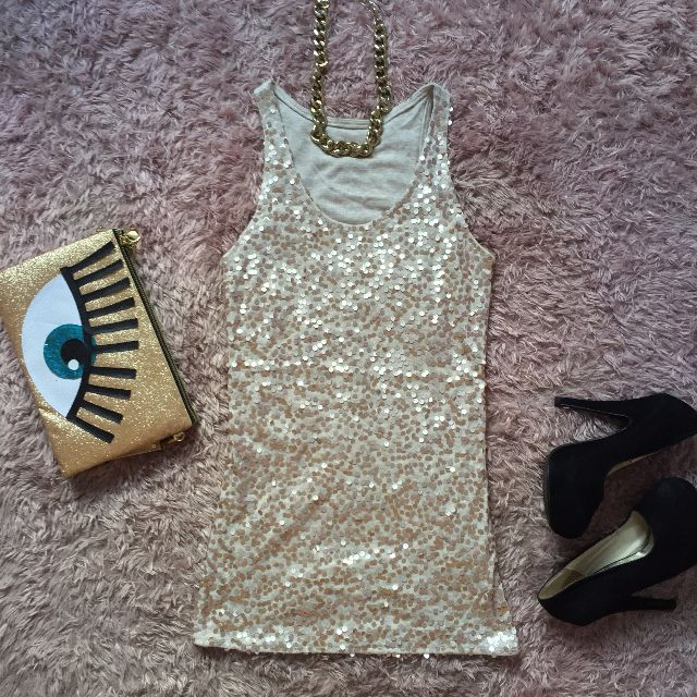 Sequin Top/Dress