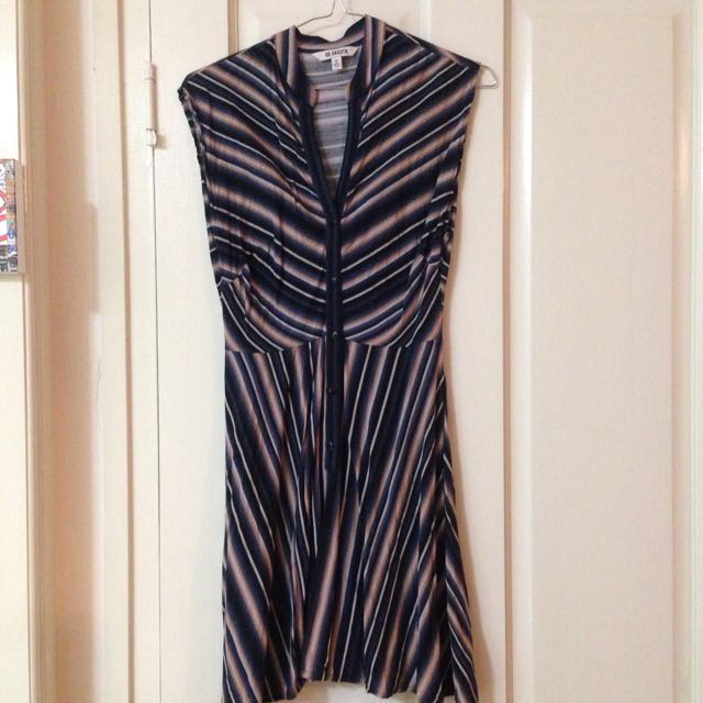 Size 6/8 Stripe Dress