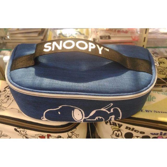 Snoopy 史努比帆布雙拉鍊萬用包