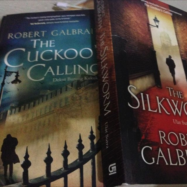 The Cuckoo's Calling  And The Silkworm