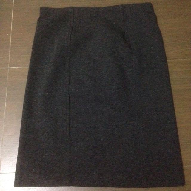 The Executive Grey Skirt