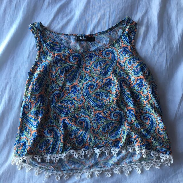 Valley Girl Floral Top