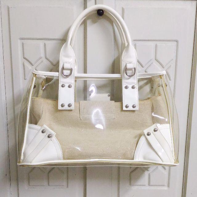 VEMAR白色透明果凍包 手提包