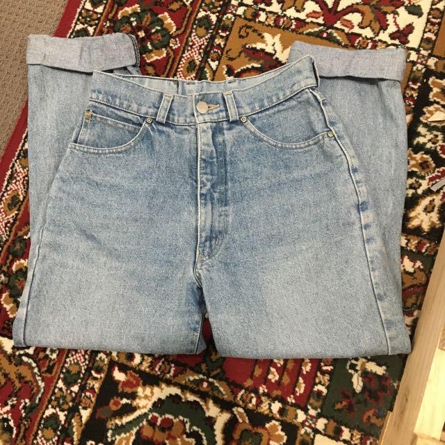 Vintage Denim Boyfriend Jeans