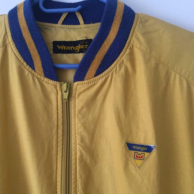 Vintage Oversized Wrangler Jacket