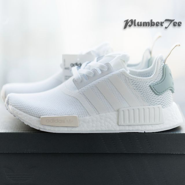 Women US7.5 Adidas Original NMD R1 Force White  b631953ca