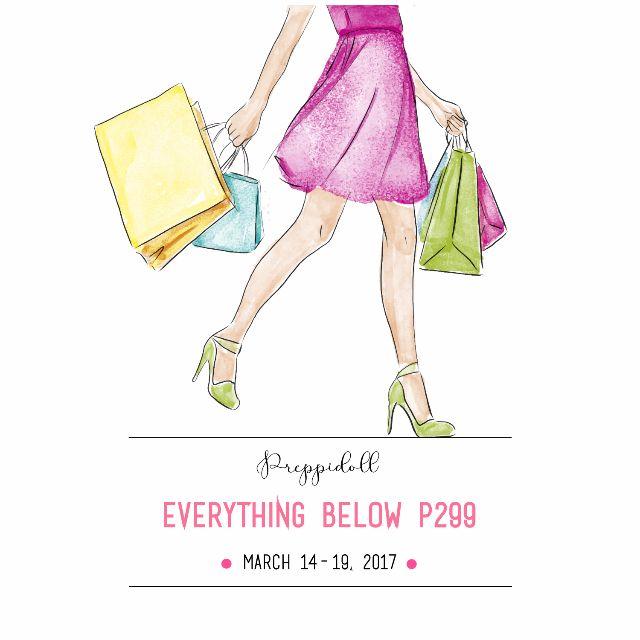 Women's clothing below P299 (March 14 - 19)