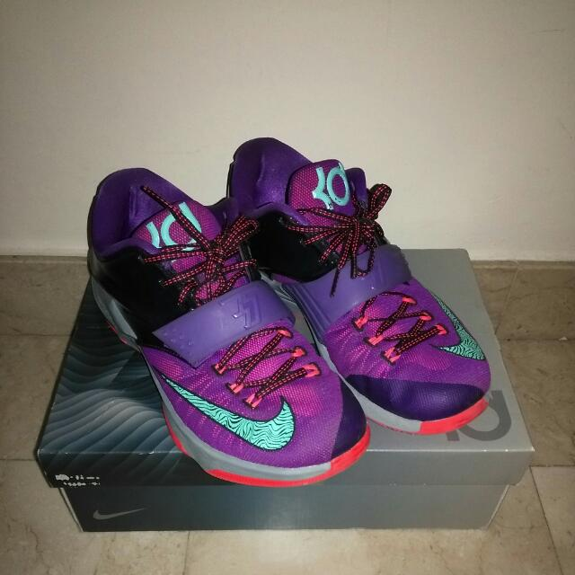 new concept a4446 5a443 WTT/WTS (us9) Kevin Durant VII KD 7 cave purple basketball ...