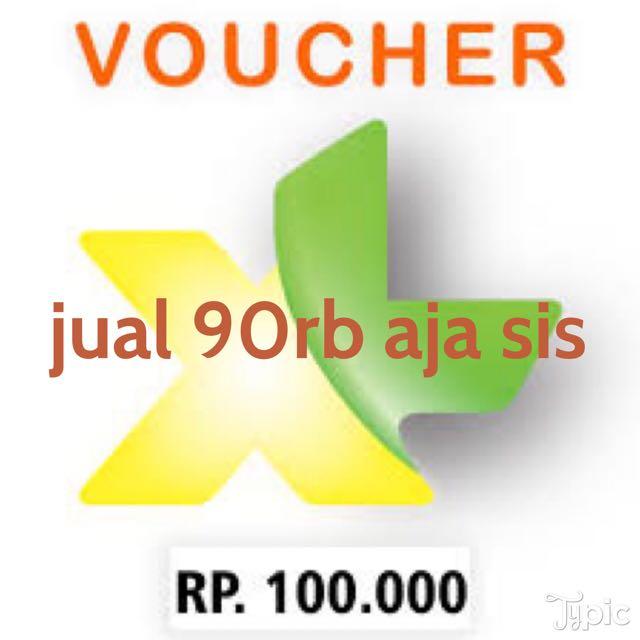 XL PULSA 100rb