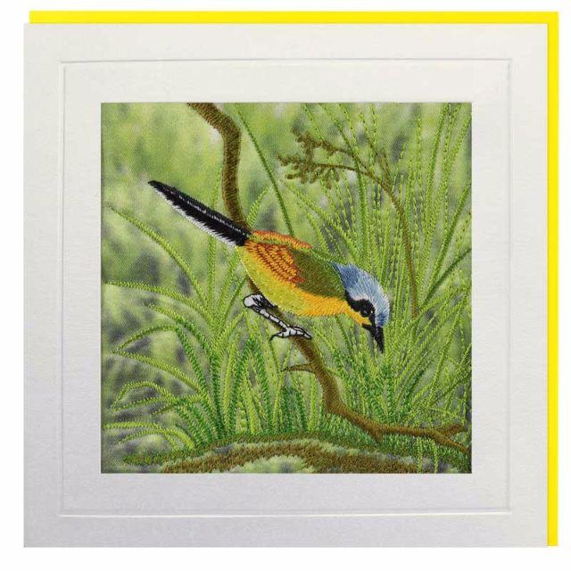 Yellow Wagtail Greeting Card
