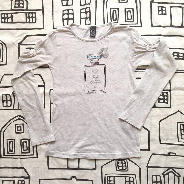 Zara Long-sleeved Top