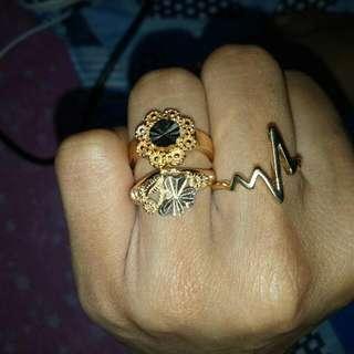 3 Rosegold Ring
