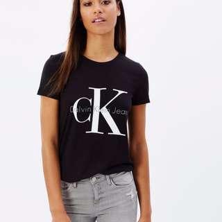 WORN: Urban CK Logo Tee by Calvin Klein Jeans RRP $59.95 SIZE XS