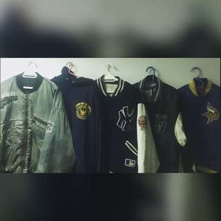 Raiders Jacket, Starter Viking, Yankess Jacket, US Navy Hoodie