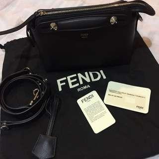 9.9成新FENDI 黑色 肩背斜背包