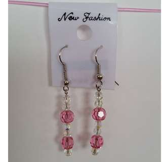 Buy 3 get 1 FREE! Swarovski bead earrings
